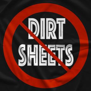 Christian Rosenberg No To Dirt Sheets T-shirt