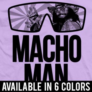 Classic Macho Man T-shirt
