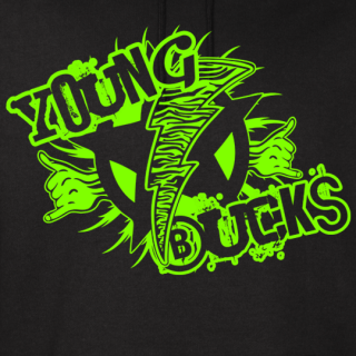 Young Bucks Classic Vintage Hoodie