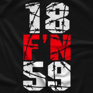 18 F'N 59 T-shirt