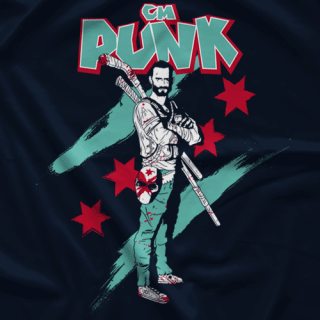 CM Punk Zombie Killer T-shirt