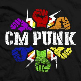 CM Punk Pride T-shirt