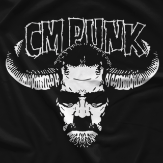 CM Punk Twist Of Cain T-shirt