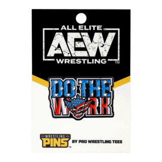 Cody  - Do The Work Wrestling Pin