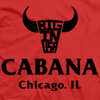 Colt Cabana Big In USA T-shirt