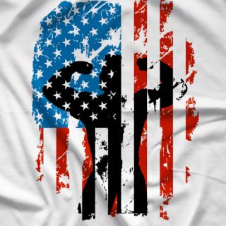 Colt Cabana Art of Wrestling Colt 4th of July Tank Top