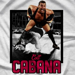 "- Clotheslined Apparel - Vintage Blend Soft T-shirt Colt Cabana ""Legacy"""