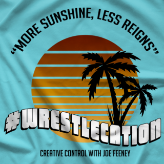 Creative Control #WrestleCation T-shirt