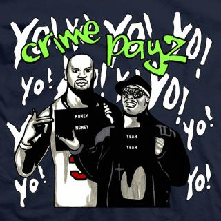 Crime Time Crime Payz T-shirt