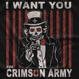 Crimson Crimson Army T-shirt