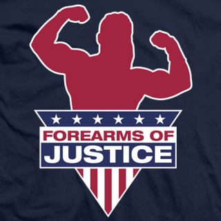 Forearms of Justice Navy
