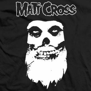 Matt Cross BEWARE T-shirt