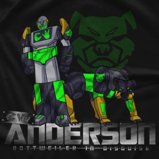 Transformer Rottweiler T-shirt