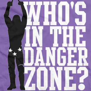 Macho Man Danger Zone T-shirt