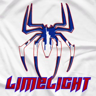 Spider City Red White & Blue