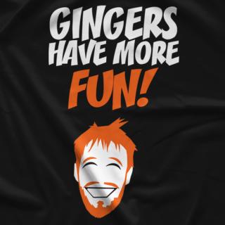 Darin Corbin More Fun (Black) T-shirts