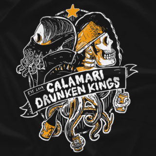 Calamari Drunken Kings