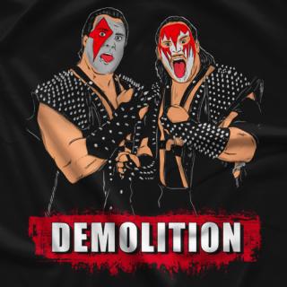 Masked Superstar Ax And Smash T-shirt