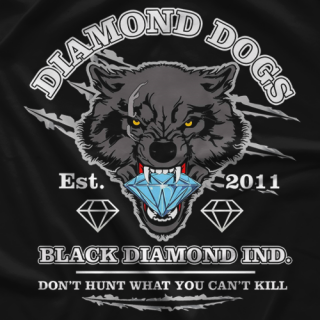 Diamond Dogs Est. 2011 T-shirt