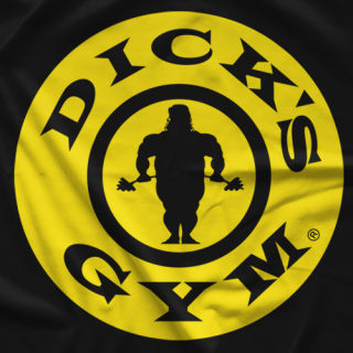 Dick Justice Dick's Gym T-Shirt