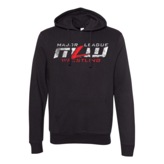 MLW Eroded Pullover Hoodie