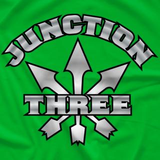 Junction Three Logo Retro