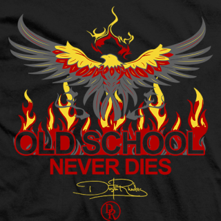 Dustin Rhodes Old School Never Dies T-shirt