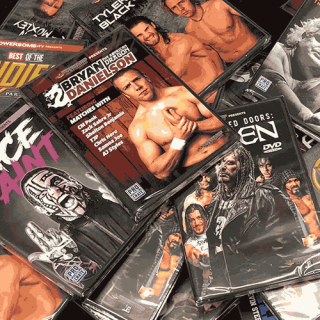PWCrate Overstock Wrestling DVD Grab Bag Pack