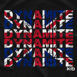 Dynamite Kid Dynamite Flag T-shirt