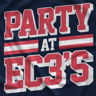 Party at EC3's T-shirt
