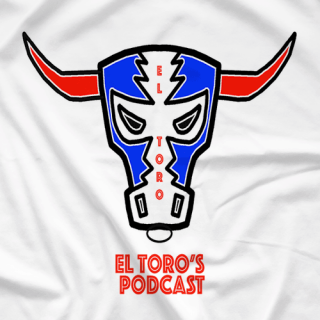 El Toro's Podcast White T-Shirt