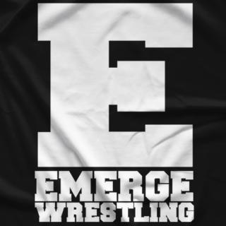Emerge Wrestling Classic E T-shirt