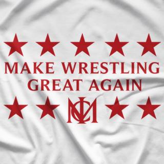 Make Wrestling Great Again T-shirt