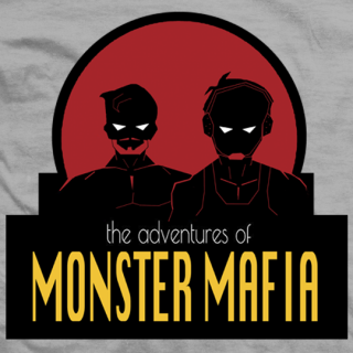 Adventures Of Monster Mafia T-shirt