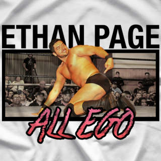 Ethan Page Legacy Parody T-shirt