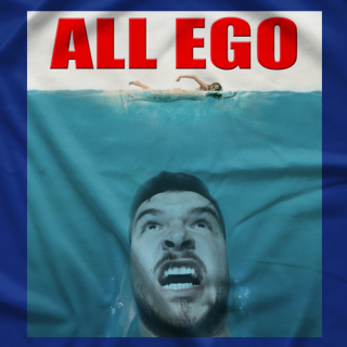 Ethan Page Shark Ego T-shirt