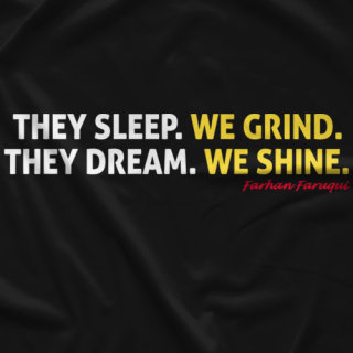 They Sleep, We Grind