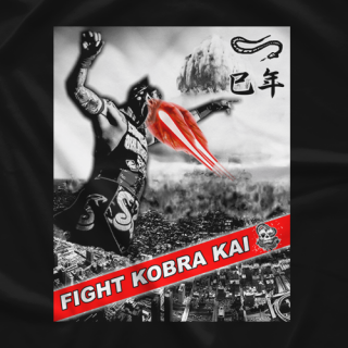 Fight Kobra Kai Kobra Attacks T-shirt