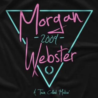 Flash Morgan Webster Neon Retro T-shirt