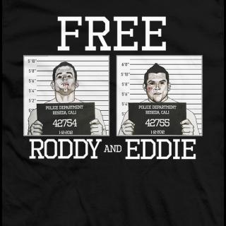 FREE Roddy and Eddie T-shirt