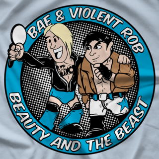 Freelance Wrestling Bae & Violent Rob T-shirt