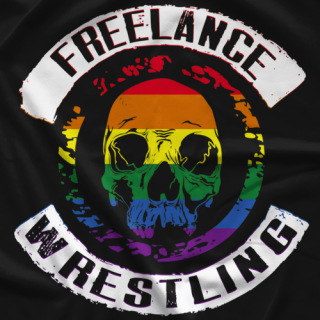 Freelance Wrestling The Pride Is Real T-shirt