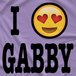 Gabby Gilbert I Heart Gabby T-shirt