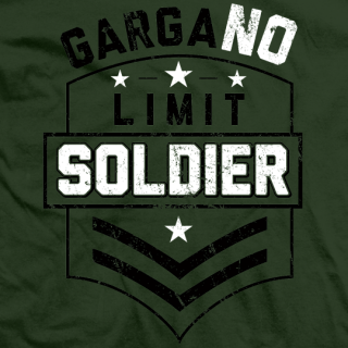 GargaNO Limit Soldier T-shirt