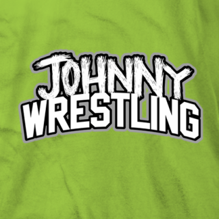 Johnny Wrestling Scratch T-shirt