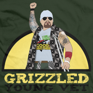 Doc Gallows Grizzled Young Vet T-shirt