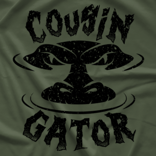 Guns & Beer Cousin Gator T-shirt