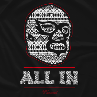 ALL IN×HAOMING  Tshirt
