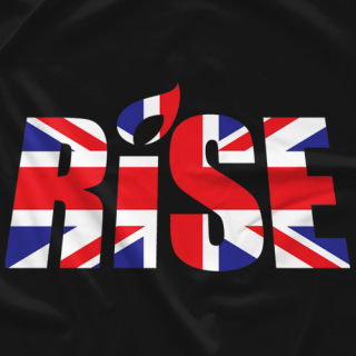RISE 4 - WARRIORS RISE UK Event Tee