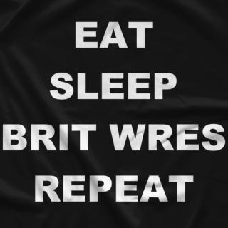 Hashtag Wresting Brit Wres T-Shirt